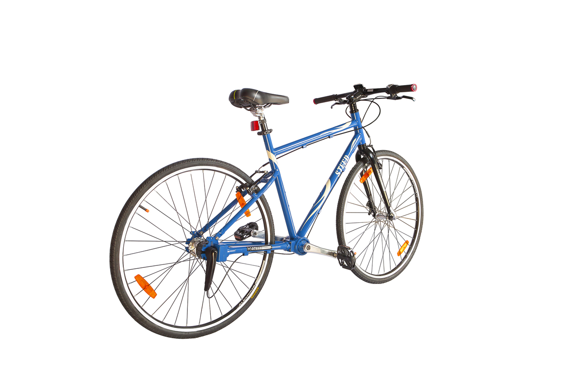Three Speed Rigid Fork Steed Chainless Bicycles