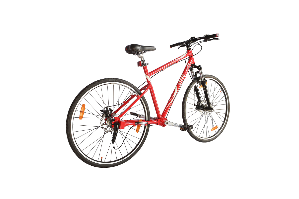 Three Speed Suspension Fork Steed Chainless Bicycles
