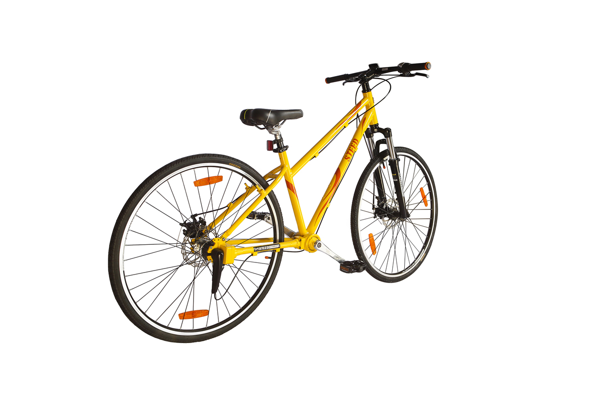 Three Speed Suspension Fork Women Steed Chainless Bicycles